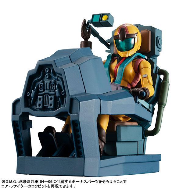 G.M.G. ガンダムミリタリージェネレーション『地球連邦軍 06 セイラ・マス』1/18 可動フィギュア-014