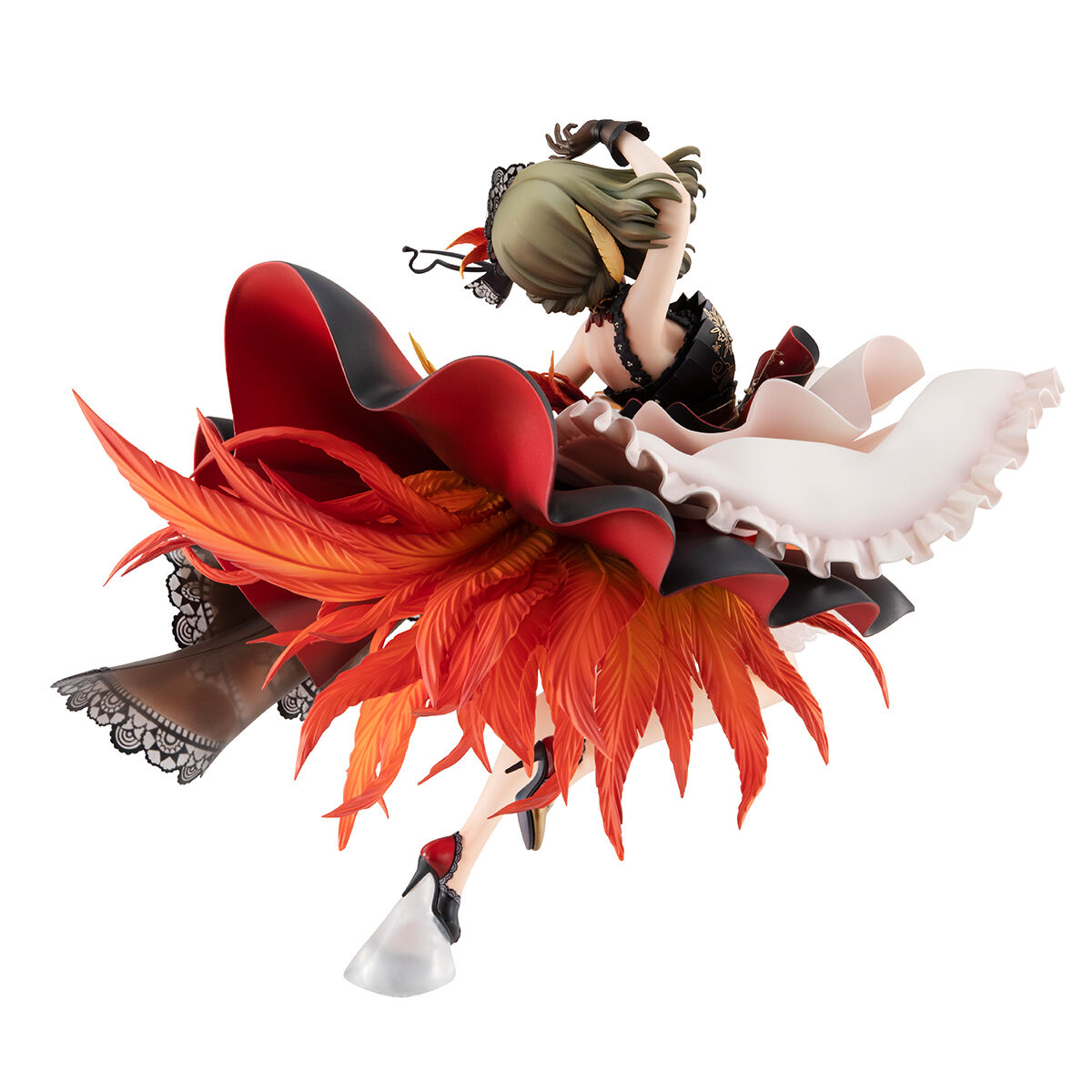 【限定販売】ブリリアントステージ『高垣楓 悠久の羽根』アイドルマスター シンデレラガールズ 完成品フィギュア-004