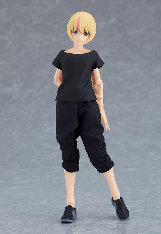 figma styles『女性body(ユウキ)with テックウェアコーデ』可動フィギュア-005