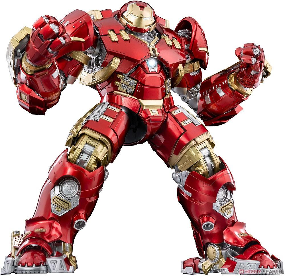 """インフィニティ・サーガ DLX 『アイアンマン・マーク44 """"ハルクバスター""""(Iron Man Mark 44 """"Hulkbuster"""")』Infinity Saga 1/12 可動フィギュア-001"""
