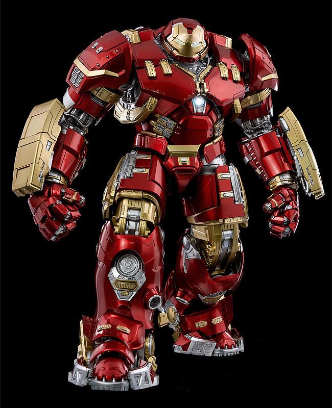 """インフィニティ・サーガ DLX 『アイアンマン・マーク44 """"ハルクバスター""""(Iron Man Mark 44 """"Hulkbuster"""")』Infinity Saga 1/12 可動フィギュア-002"""