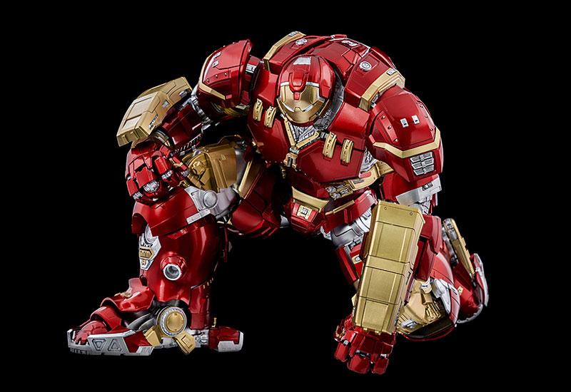 """インフィニティ・サーガ DLX 『アイアンマン・マーク44 """"ハルクバスター""""(Iron Man Mark 44 """"Hulkbuster"""")』Infinity Saga 1/12 可動フィギュア-006"""