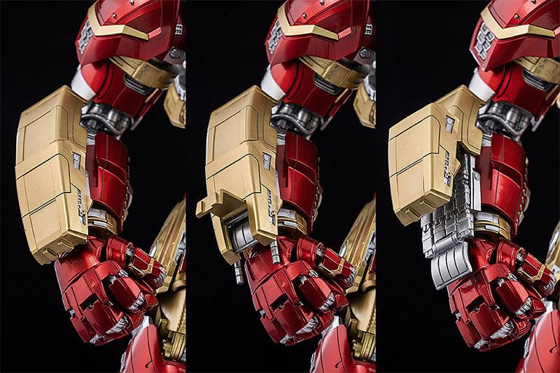 """インフィニティ・サーガ DLX 『アイアンマン・マーク44 """"ハルクバスター""""(Iron Man Mark 44 """"Hulkbuster"""")』Infinity Saga 1/12 可動フィギュア-007"""