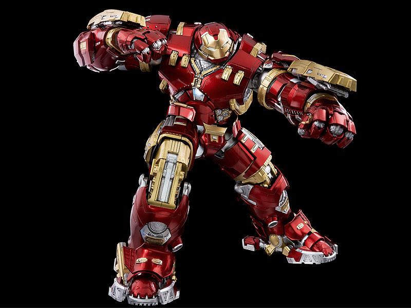 """インフィニティ・サーガ DLX 『アイアンマン・マーク44 """"ハルクバスター""""(Iron Man Mark 44 """"Hulkbuster"""")』Infinity Saga 1/12 可動フィギュア-008"""