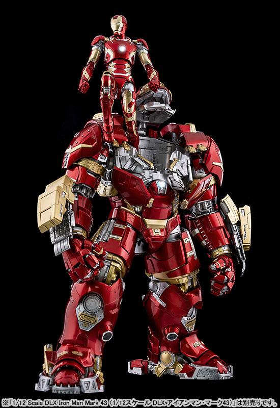 """インフィニティ・サーガ DLX 『アイアンマン・マーク44 """"ハルクバスター""""(Iron Man Mark 44 """"Hulkbuster"""")』Infinity Saga 1/12 可動フィギュア-010"""