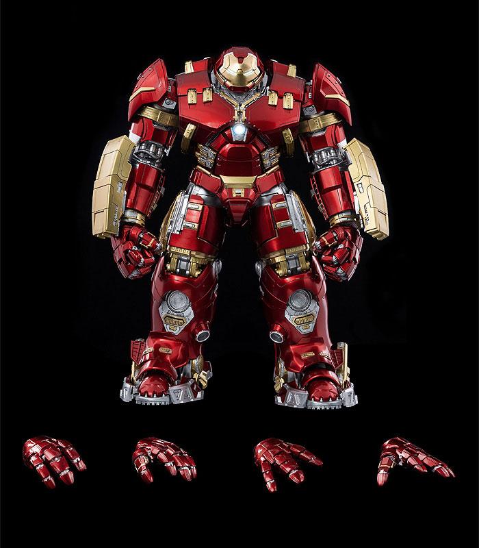 """インフィニティ・サーガ DLX 『アイアンマン・マーク44 """"ハルクバスター""""(Iron Man Mark 44 """"Hulkbuster"""")』Infinity Saga 1/12 可動フィギュア-011"""