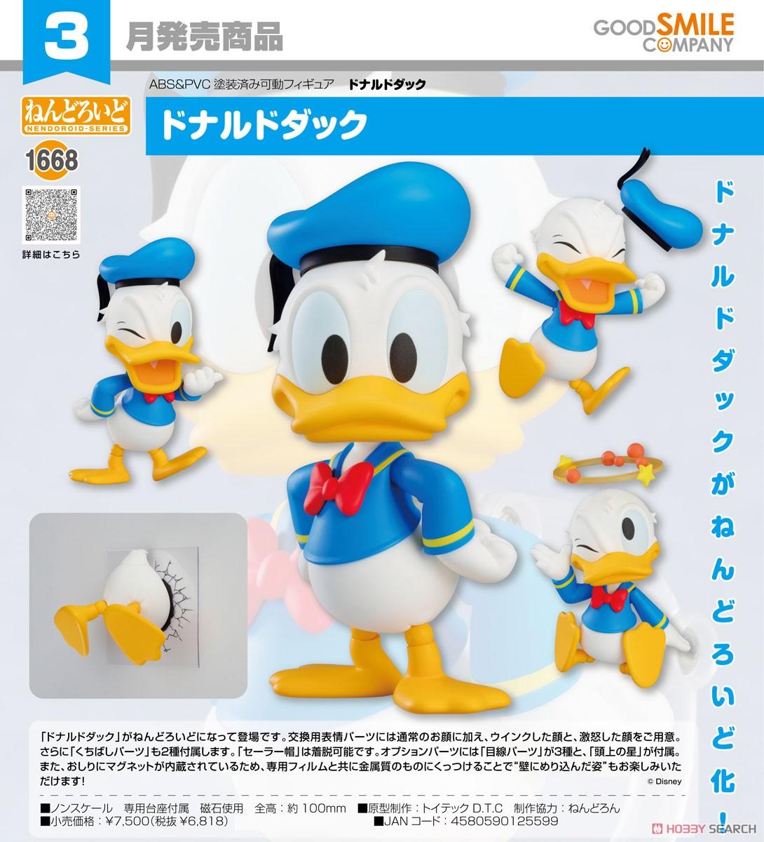 ねんどろいど『ドナルドダック』ディズニー デフォルメ可動フィギュア-006
