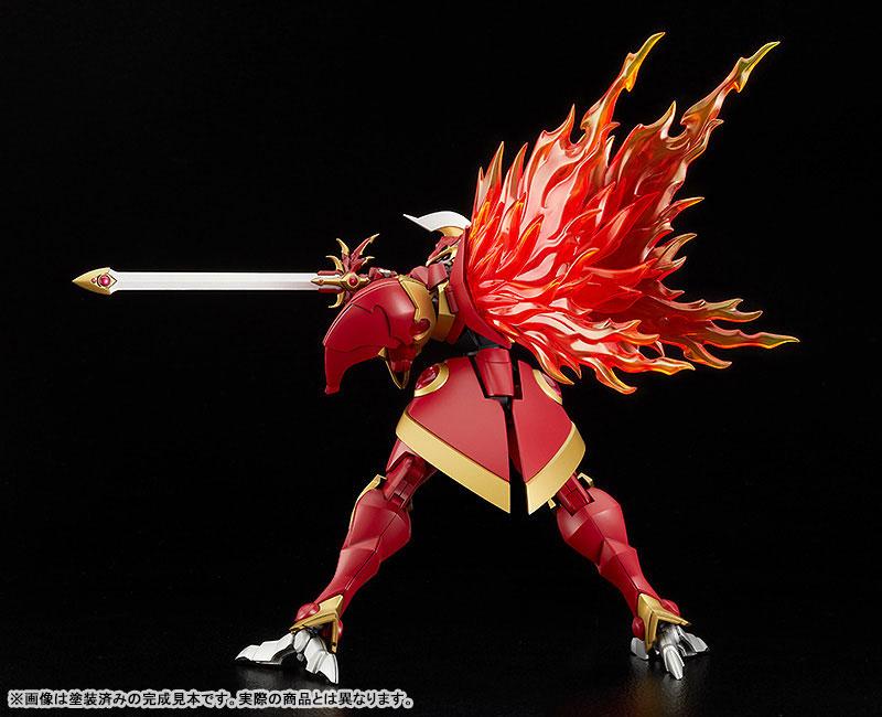 MODEROID『炎神レイアース』魔法騎士レイアース プラモデル-005