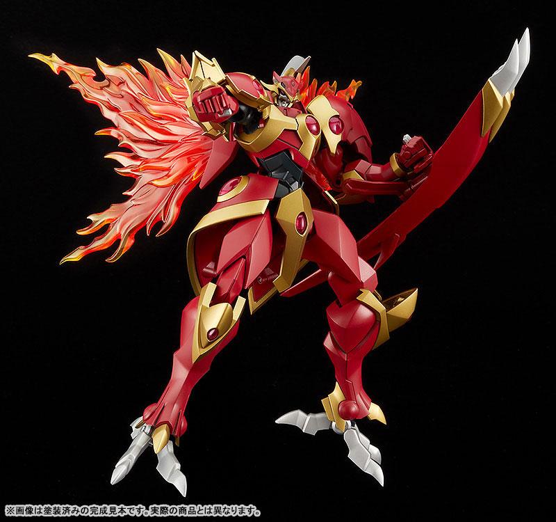 MODEROID『炎神レイアース』魔法騎士レイアース プラモデル-006
