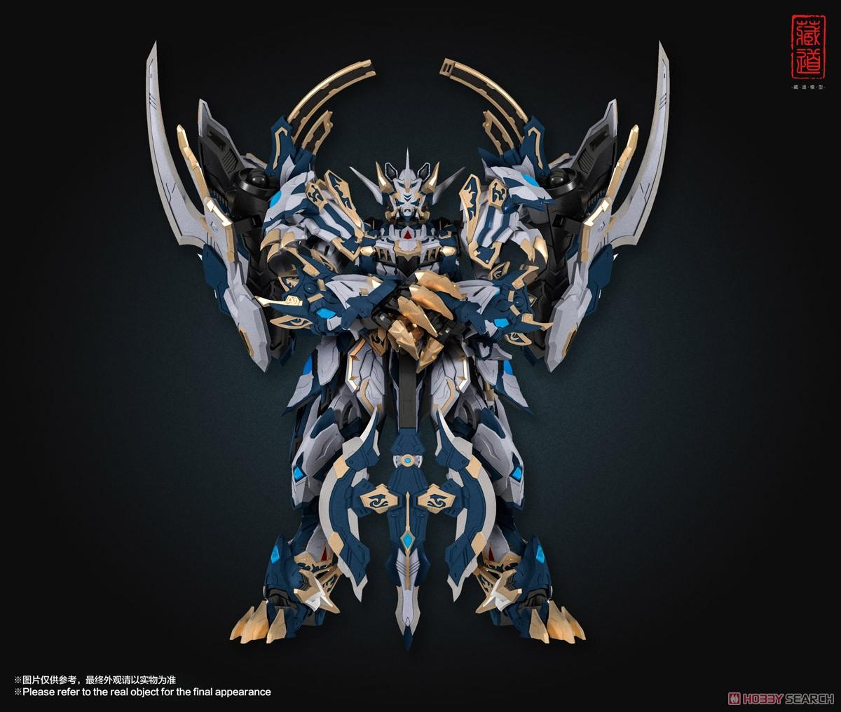 『CD-02 四聖獣 白虎』合金可動フィギュア-001