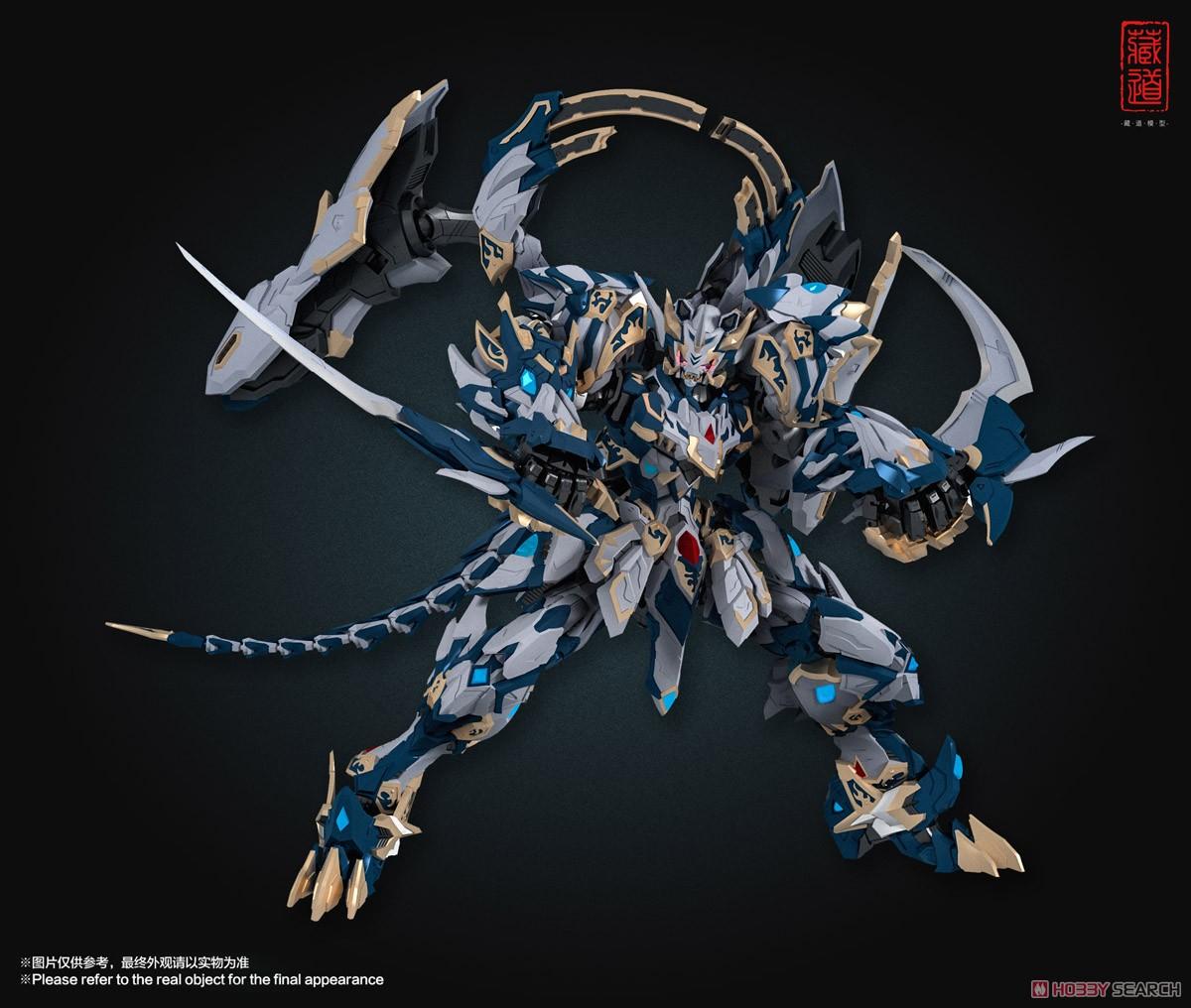 『CD-02 四聖獣 白虎』合金可動フィギュア-003