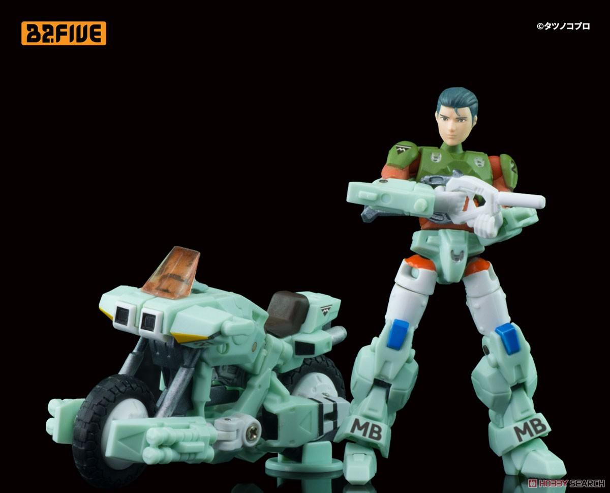 B2FIVE『モスピーダ VR-052F スティックタイプ』機甲創世記モスピーダ デフォルメ可動フィギュア-005