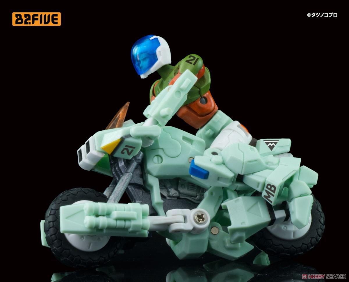B2FIVE『モスピーダ VR-052F スティックタイプ』機甲創世記モスピーダ デフォルメ可動フィギュア-008