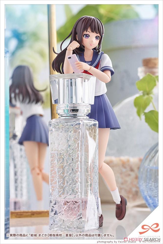 創彩少女庭園『結城まどか[桃桜高校・夏服]』1/10 プラモデル-018