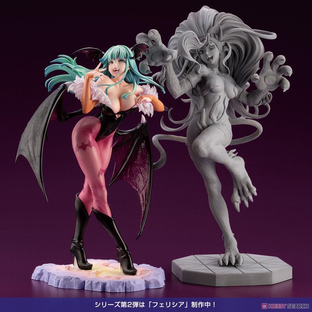 ヴァンパイア美少女『モリガン』ヴァンパイア/DARKSTALKERS 1/7 完成品フィギュア-016