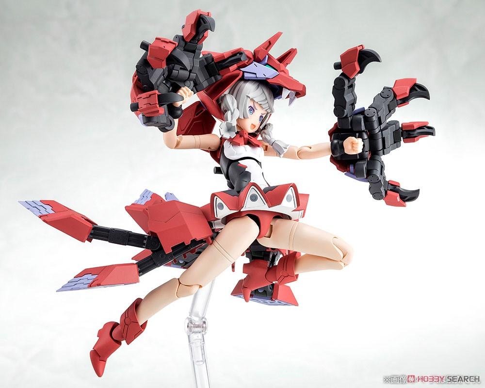 メガミデバイス『Chaos & Pretty 赤ずきん』1/1 プラモデル-005