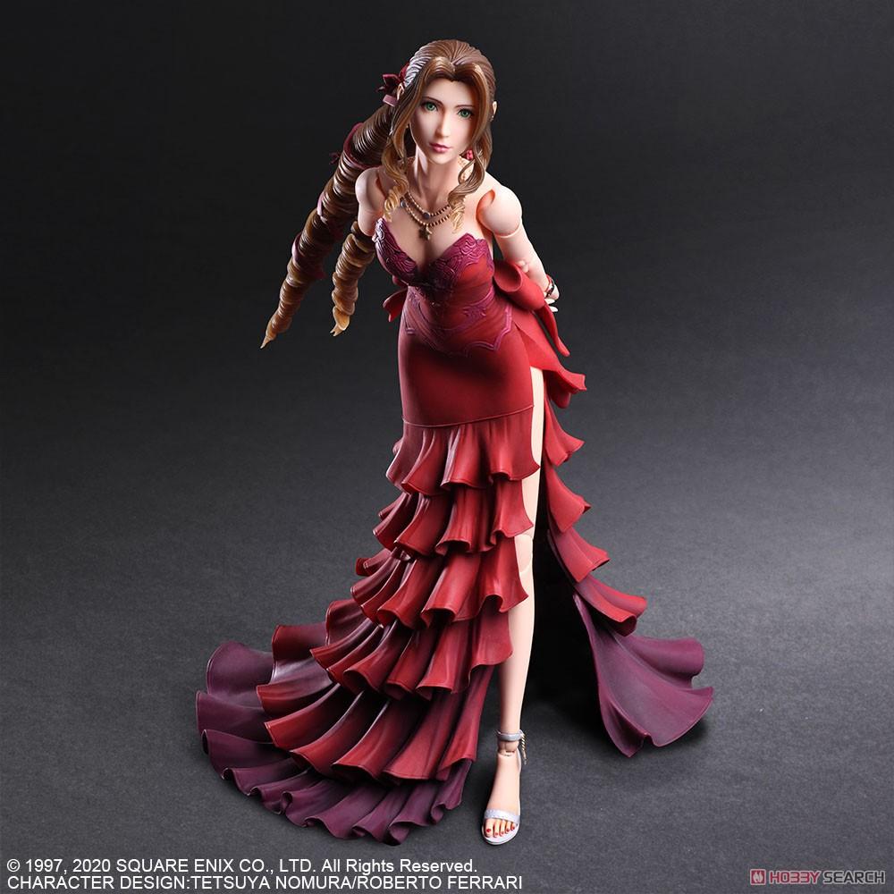 PLAY ARTS改『エアリス・ゲインズブール -ドレス Ver.-』ファイナルファンタジー VII リメイク 可動フィギュア-003