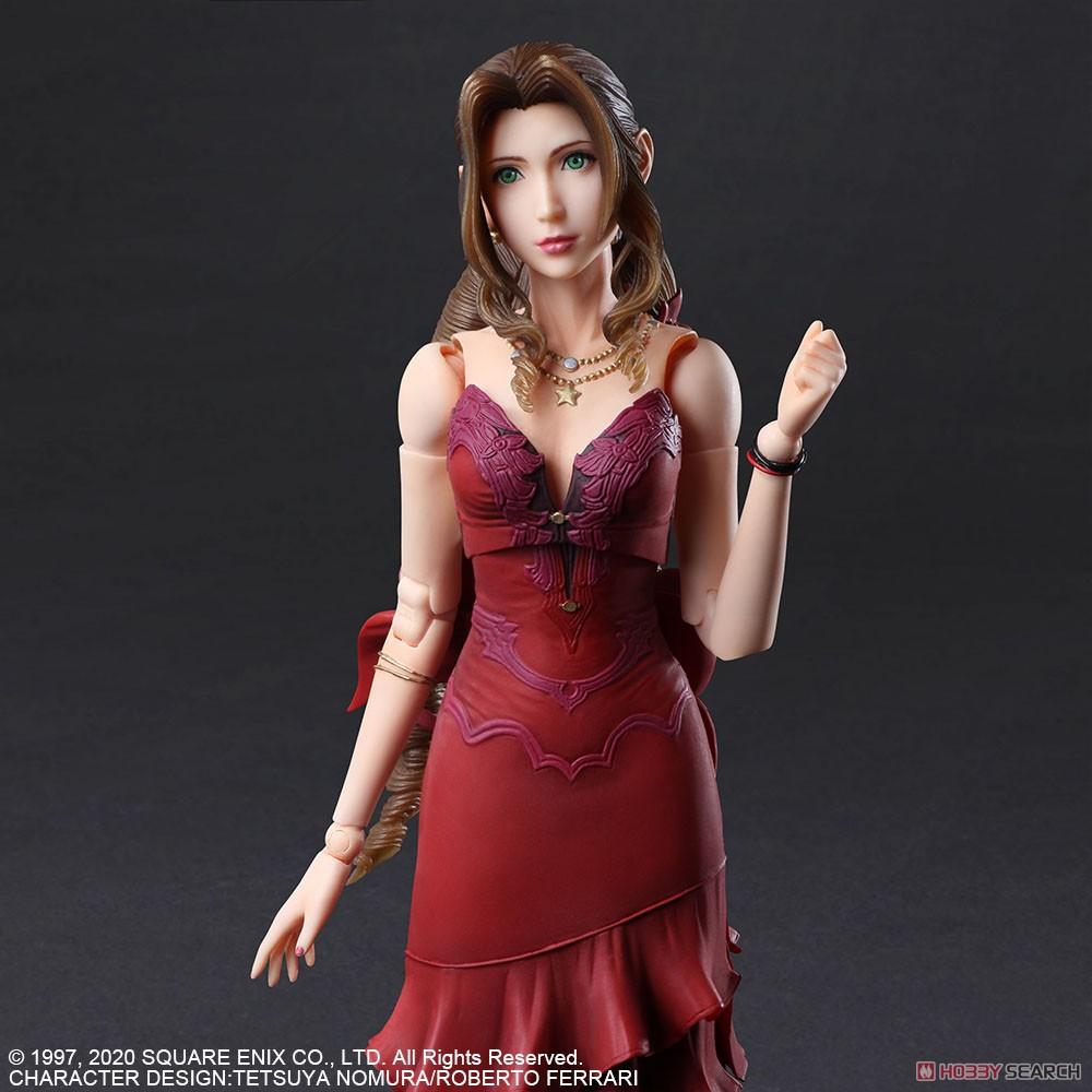 PLAY ARTS改『エアリス・ゲインズブール -ドレス Ver.-』ファイナルファンタジー VII リメイク 可動フィギュア-006