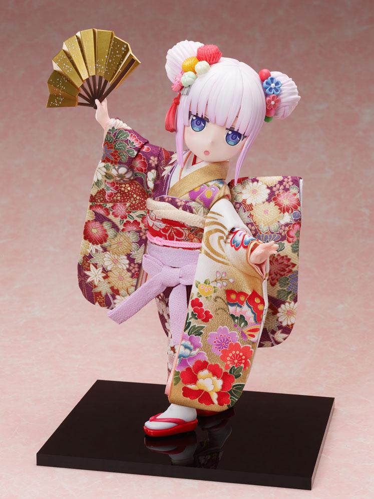 吉徳×F:NEX『カンナ -日本人形-』小林さんちのメイドラゴン 1/4 完成品フィギュア-001