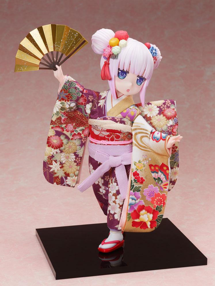 吉徳×F:NEX『カンナ -日本人形-』小林さんちのメイドラゴン 1/4 完成品フィギュア-002