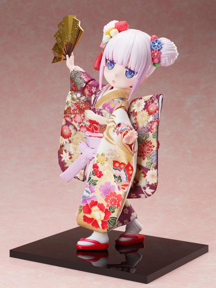 吉徳×F:NEX『カンナ -日本人形-』小林さんちのメイドラゴン 1/4 完成品フィギュア-006