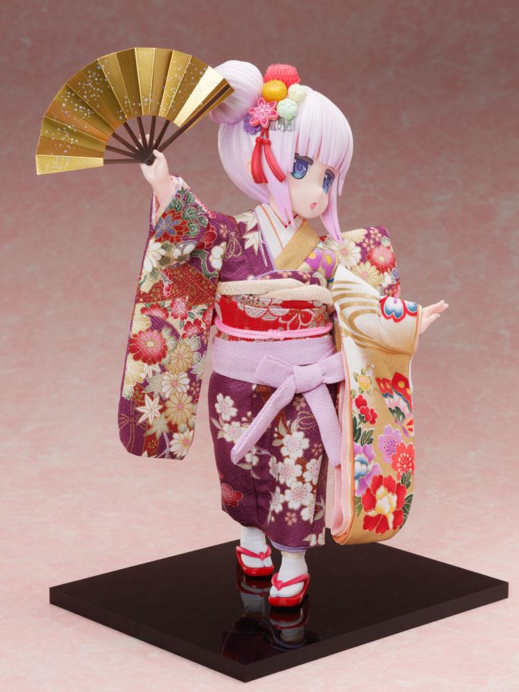 吉徳×F:NEX『カンナ -日本人形-』小林さんちのメイドラゴン 1/4 完成品フィギュア-007