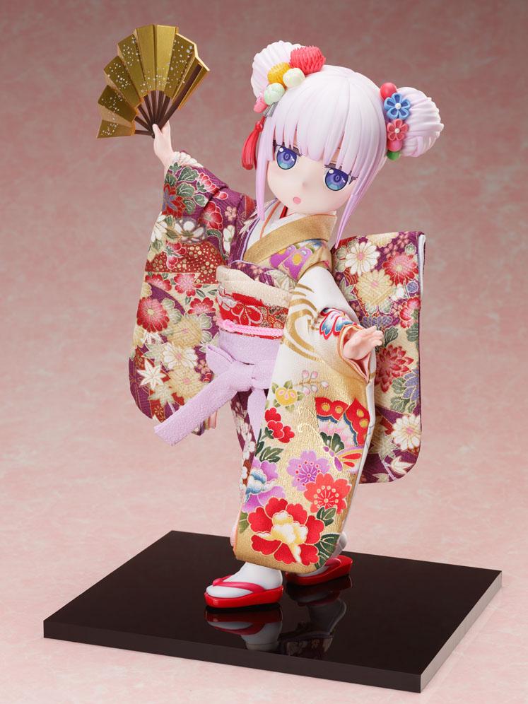 吉徳×F:NEX『カンナ -日本人形-』小林さんちのメイドラゴン 1/4 完成品フィギュア-009