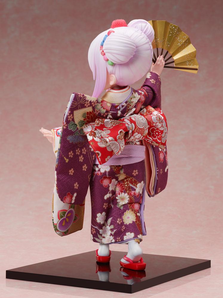 吉徳×F:NEX『カンナ -日本人形-』小林さんちのメイドラゴン 1/4 完成品フィギュア-010