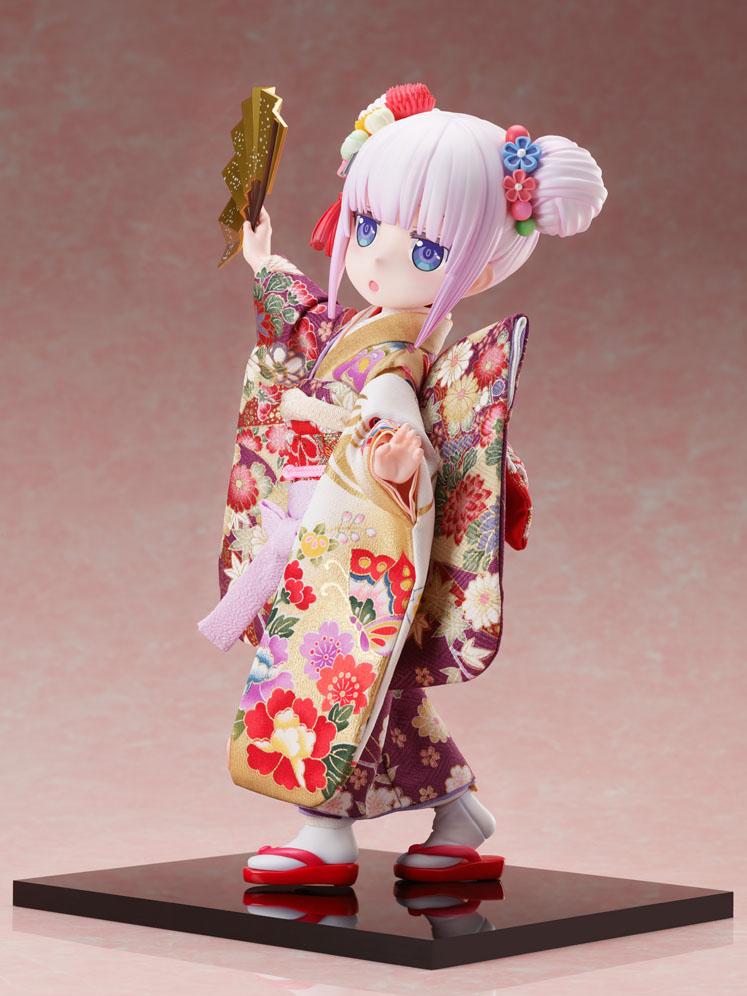 吉徳×F:NEX『カンナ -日本人形-』小林さんちのメイドラゴン 1/4 完成品フィギュア-011
