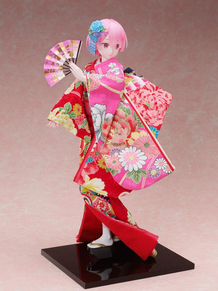 吉徳×F:NEX『ラム -日本人形-』Re:ゼロから始める異世界生活 1/4 美少女フィギュア-001