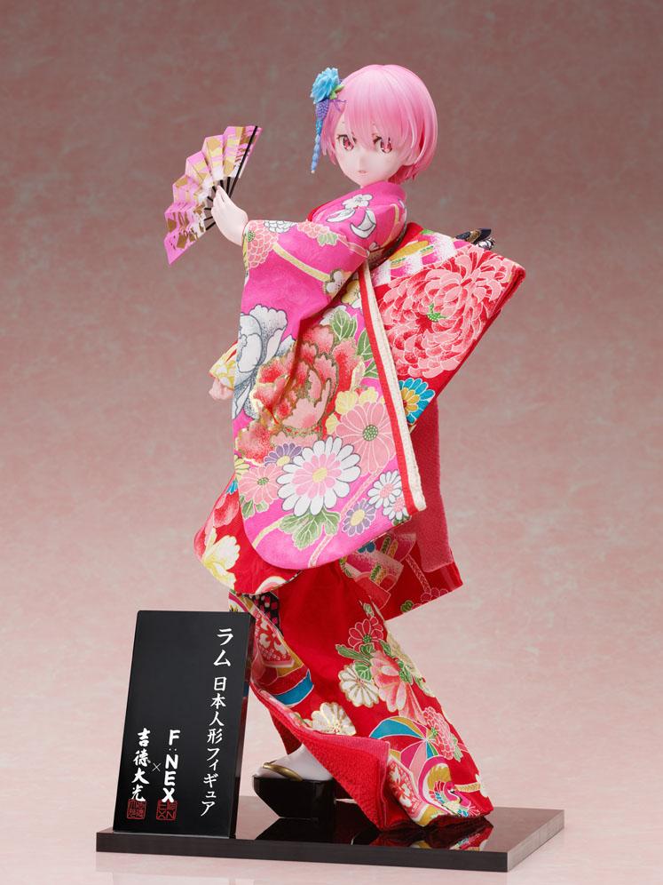 吉徳×F:NEX『ラム -日本人形-』Re:ゼロから始める異世界生活 1/4 美少女フィギュア-003