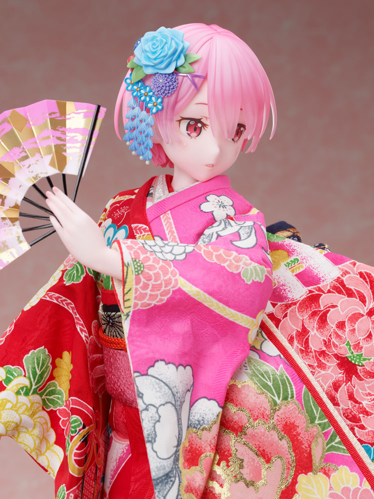吉徳×F:NEX『ラム -日本人形-』Re:ゼロから始める異世界生活 1/4 美少女フィギュア-004