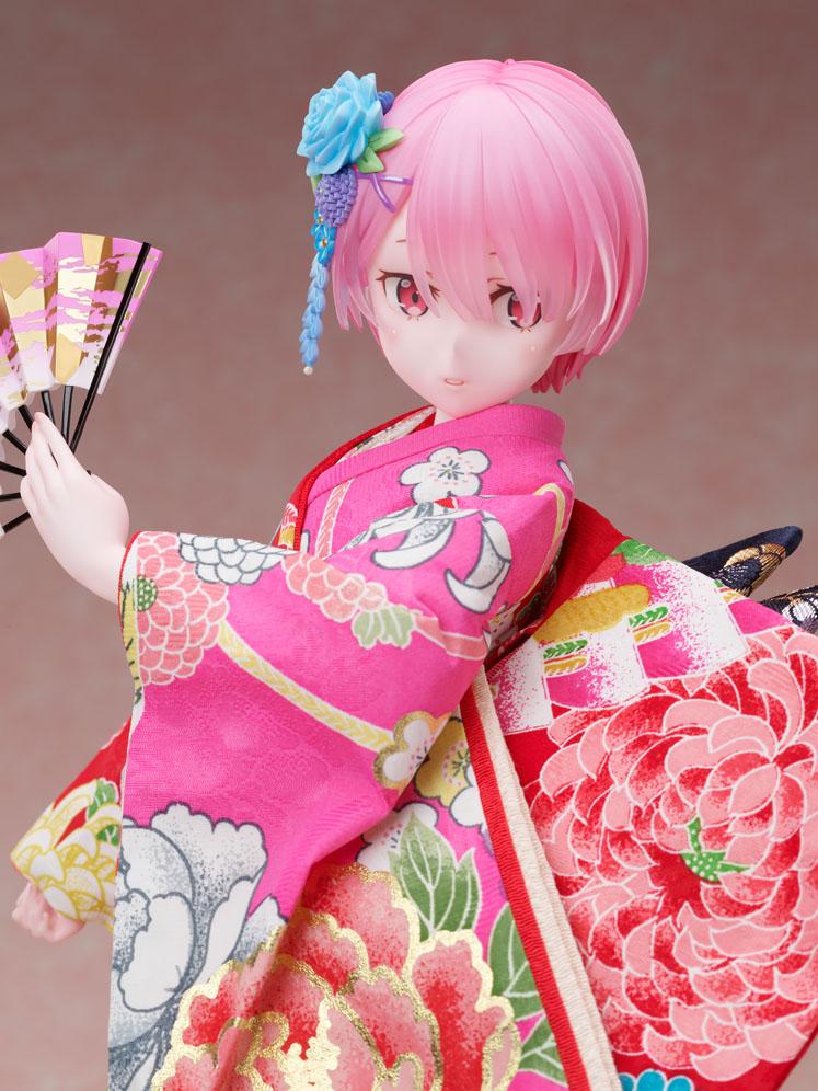吉徳×F:NEX『ラム -日本人形-』Re:ゼロから始める異世界生活 1/4 美少女フィギュア-005