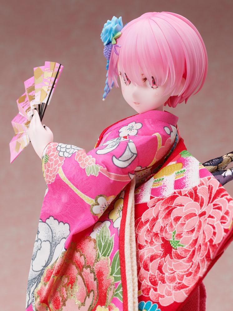 吉徳×F:NEX『ラム -日本人形-』Re:ゼロから始める異世界生活 1/4 美少女フィギュア-006
