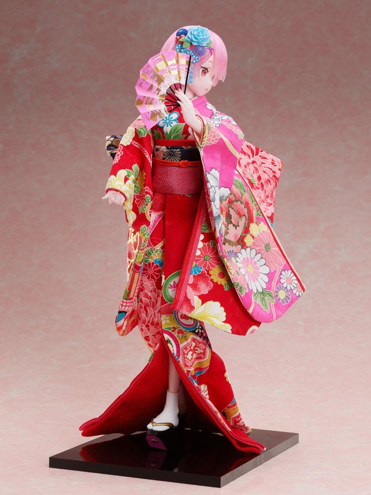 吉徳×F:NEX『ラム -日本人形-』Re:ゼロから始める異世界生活 1/4 美少女フィギュア-008