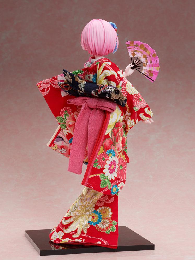 吉徳×F:NEX『ラム -日本人形-』Re:ゼロから始める異世界生活 1/4 美少女フィギュア-009