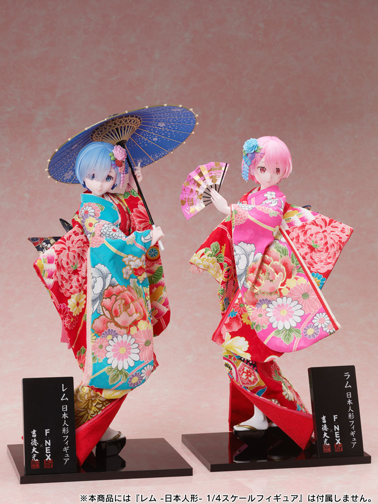 吉徳×F:NEX『ラム -日本人形-』Re:ゼロから始める異世界生活 1/4 美少女フィギュア-010