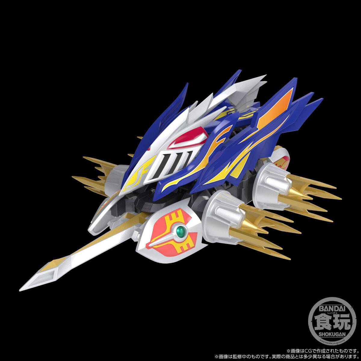 【限定販売】【食玩】SMP[SHOKUGAN MODELING PROJECT]『クラッシュギア BATTLE2』激闘!クラッシュギアTURBO 4個入りBOX-002