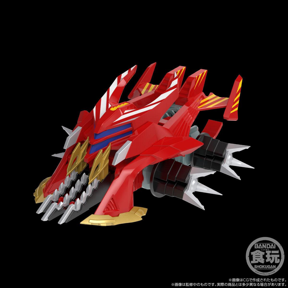 【限定販売】【食玩】SMP[SHOKUGAN MODELING PROJECT]『クラッシュギア BATTLE2』激闘!クラッシュギアTURBO 4個入りBOX-003