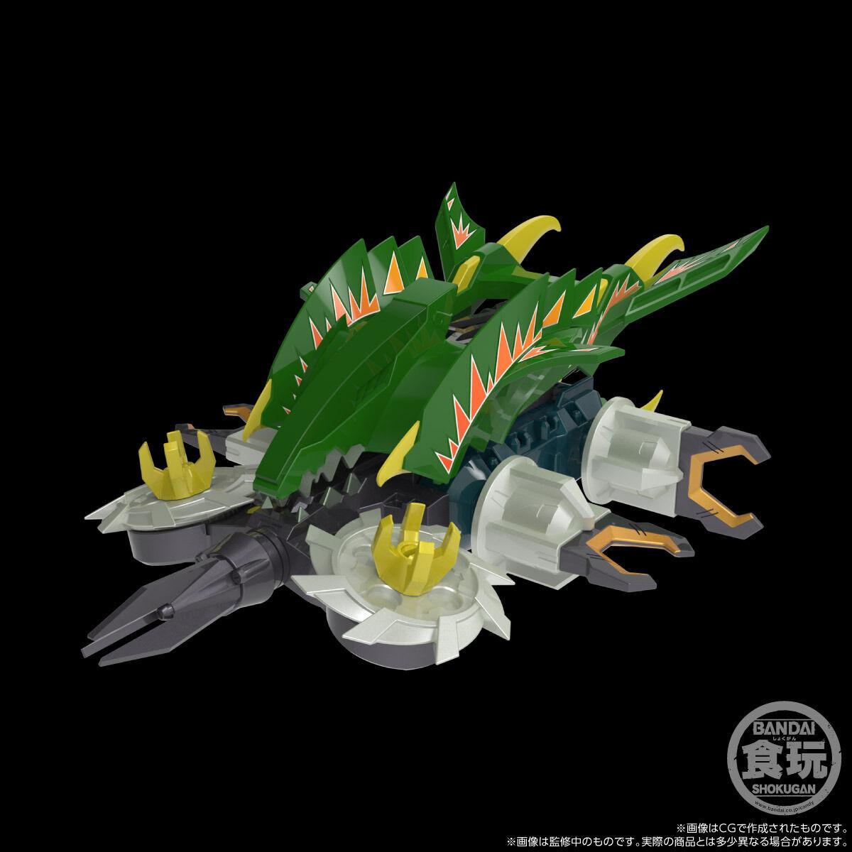 【限定販売】【食玩】SMP[SHOKUGAN MODELING PROJECT]『クラッシュギア BATTLE2』激闘!クラッシュギアTURBO 4個入りBOX-004