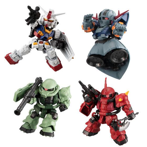 【食玩】機動戦士ガンダム『MOBILITY JOINT GUNDAM VOL.1』デフォルメ可動フィギュア  10個入りBOX