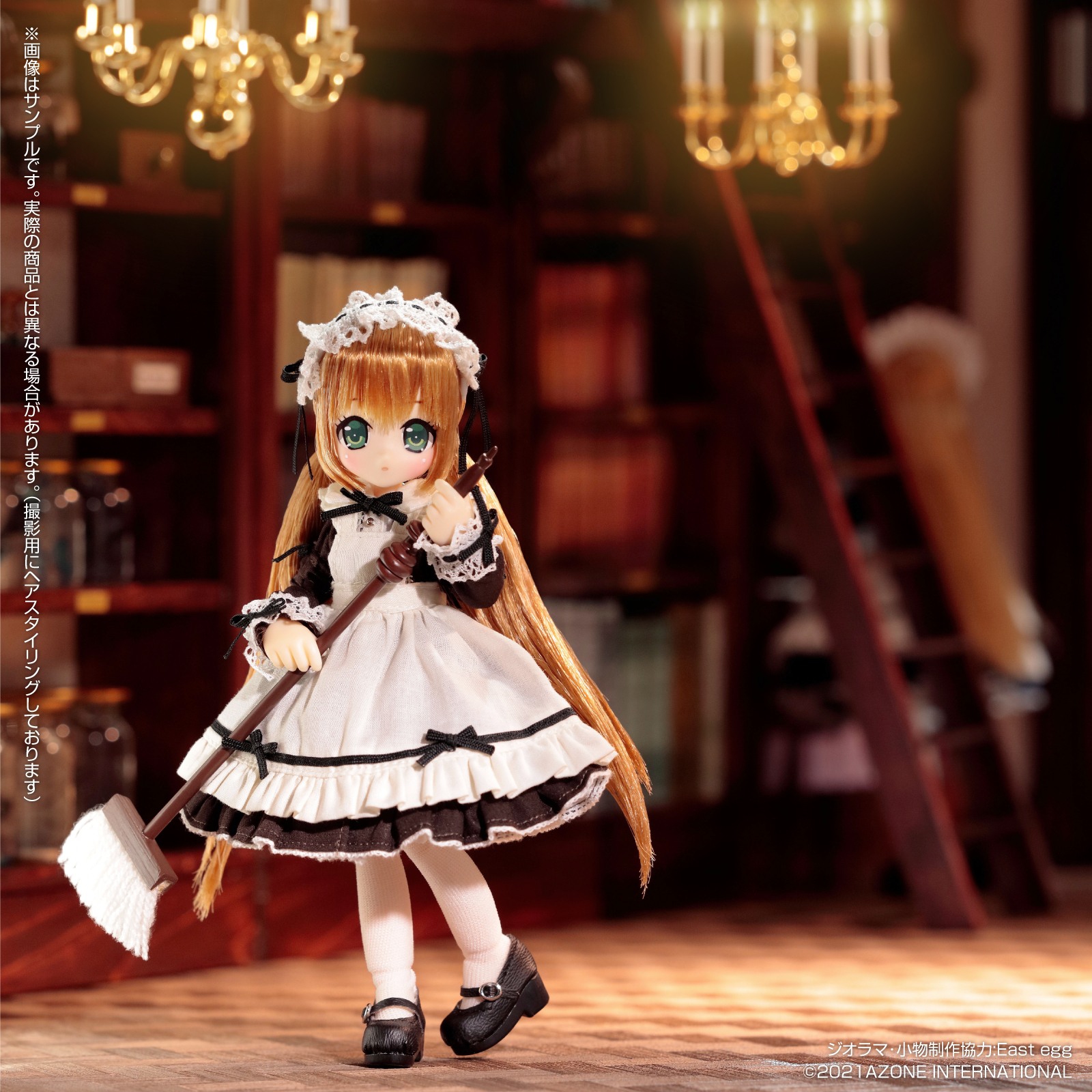 Lil'Fairy ~ちいさなお手伝いさん~『リプー 7th anniv.(ノーマル口ver.)』1/12 完成品ドール-001