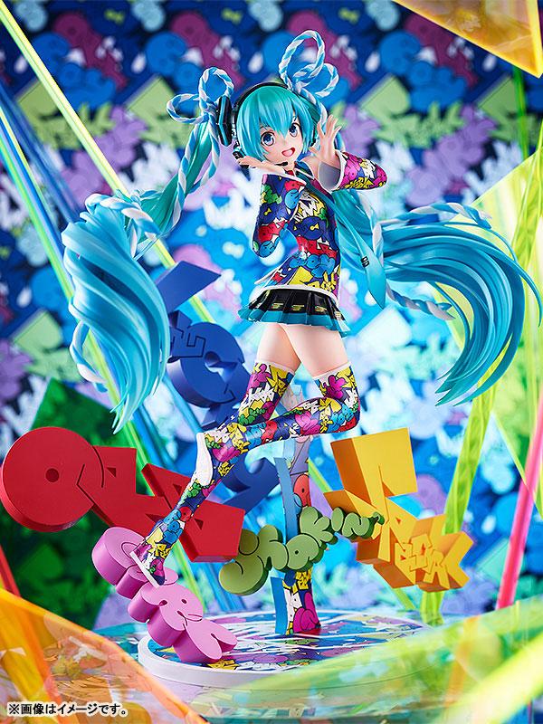 『初音ミク MIKU EXPO 5th Anniv. / Lucky☆Orb: UTA X KASOKU Ver.』1/8 完成品フィギュア-001