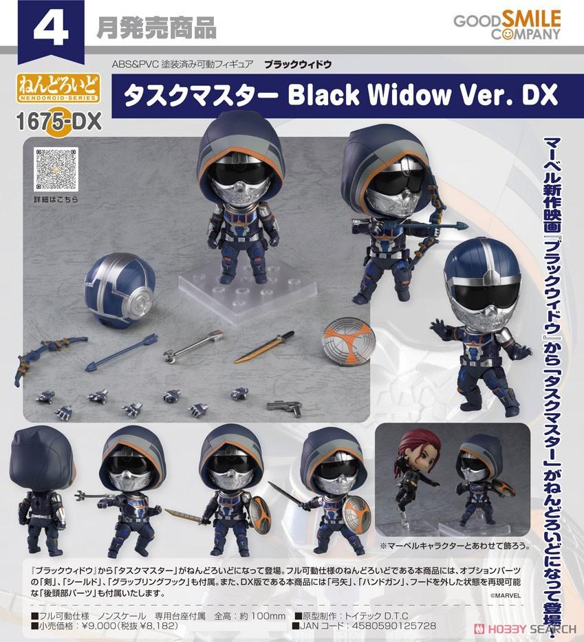 ねんどろいど『ブラックウィドウ Black Widow Ver. DX』デフォルメ可動フィギュア-009