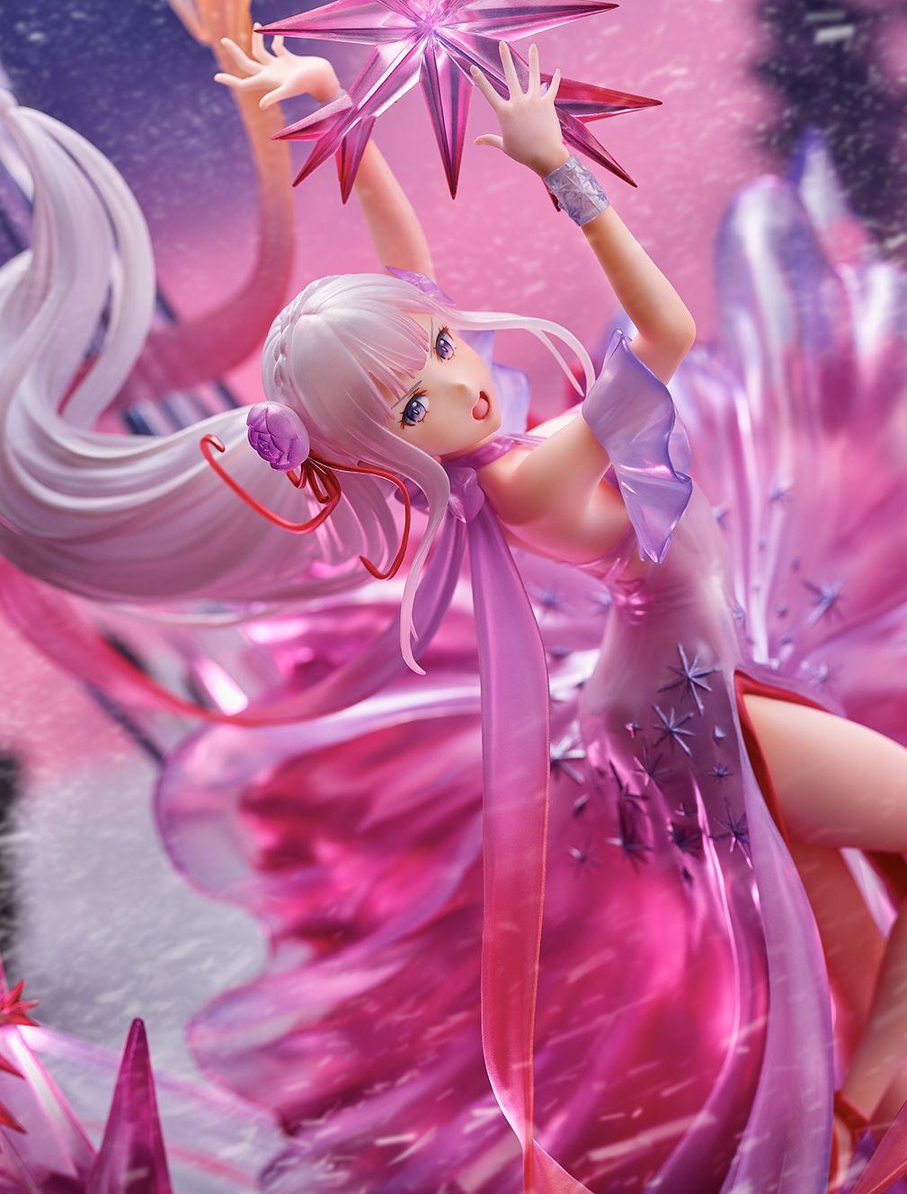 【限定販売】Re:ゼロから始める異世界生活『氷結のエミリア -Crystal Dress Ver-』 1/7 完成品フィギュア-004