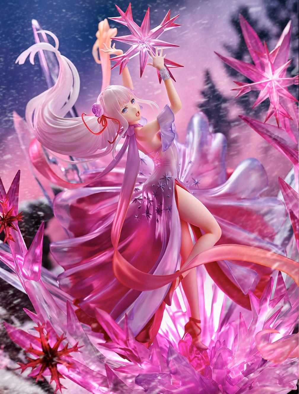 【限定販売】Re:ゼロから始める異世界生活『氷結のエミリア -Crystal Dress Ver-』 1/7 完成品フィギュア-006