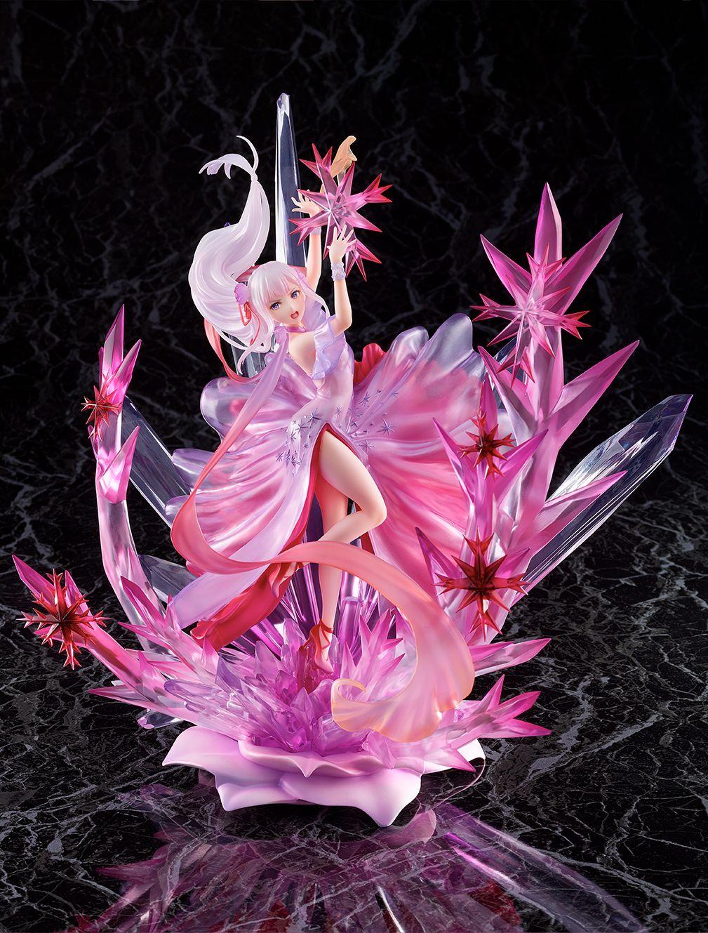 【限定販売】Re:ゼロから始める異世界生活『氷結のエミリア -Crystal Dress Ver-』 1/7 完成品フィギュア-009