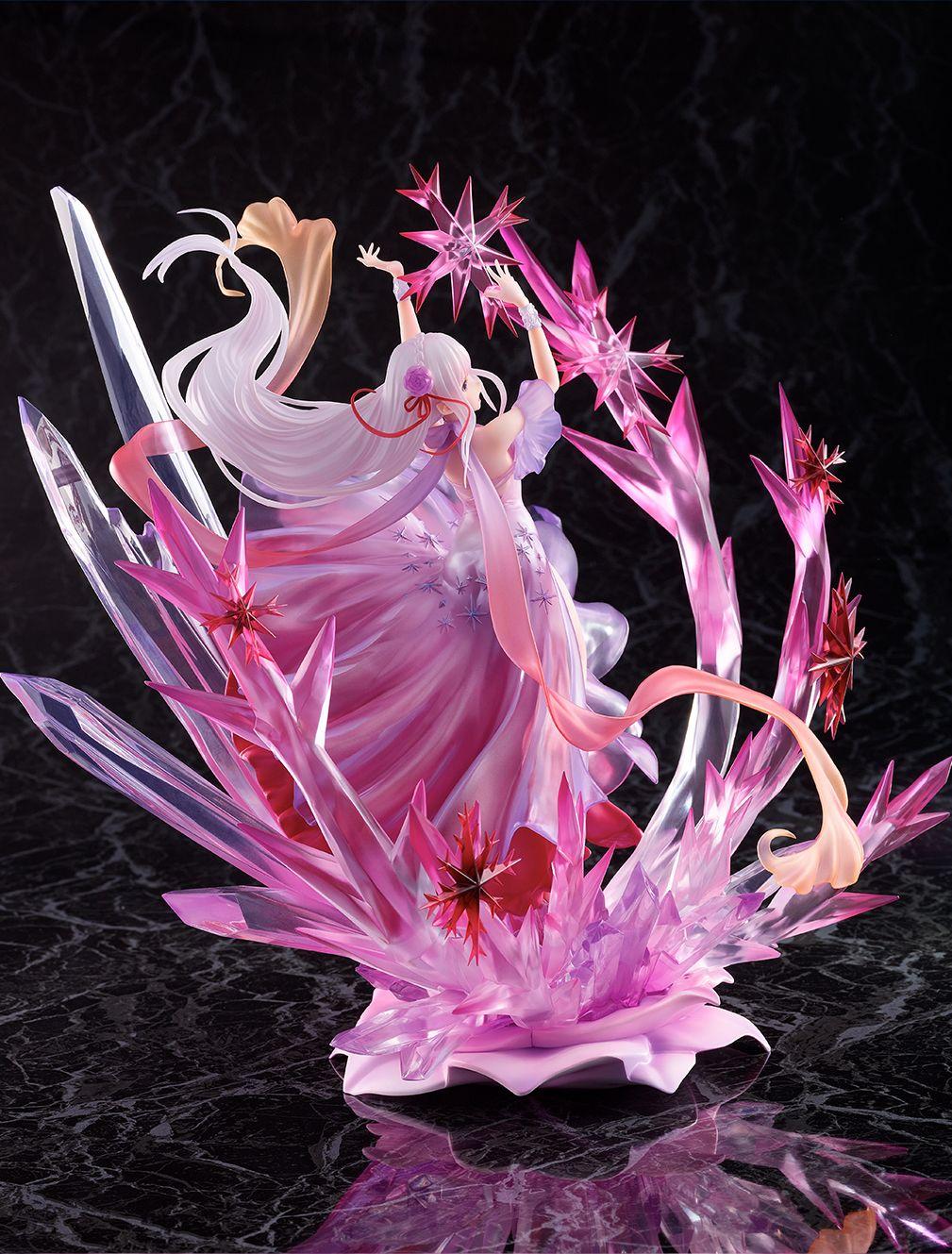 【限定販売】Re:ゼロから始める異世界生活『氷結のエミリア -Crystal Dress Ver-』 1/7 完成品フィギュア-010