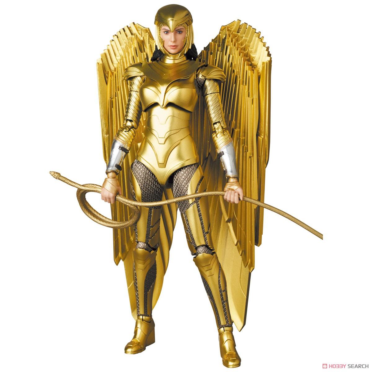 マフェックス No.148 MAFEX『ワンダーウーマン 1984 ゴールドアーマー版/WONDER WOMAN GOLDEN ARMOR Ver.』可動フィギュア-001
