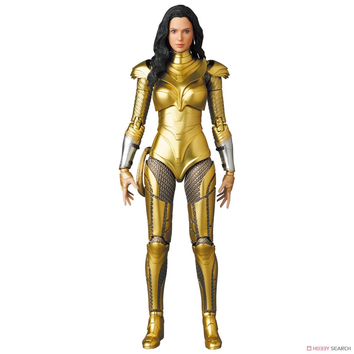 マフェックス No.148 MAFEX『ワンダーウーマン 1984 ゴールドアーマー版/WONDER WOMAN GOLDEN ARMOR Ver.』可動フィギュア-003